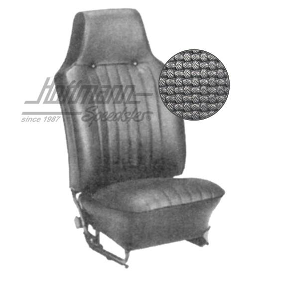 Sitzbezüge VW Käfer schwarz
