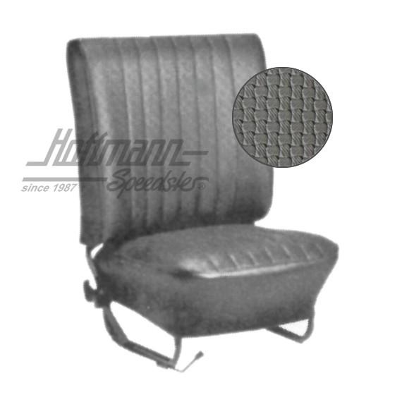 Sitzbezüfe VW Käfer Basket Weave grau